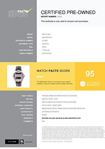 Breitling Aerospace quartz mens Watch E75362 (Certified Pre-owned) by Breitling (Image #5)