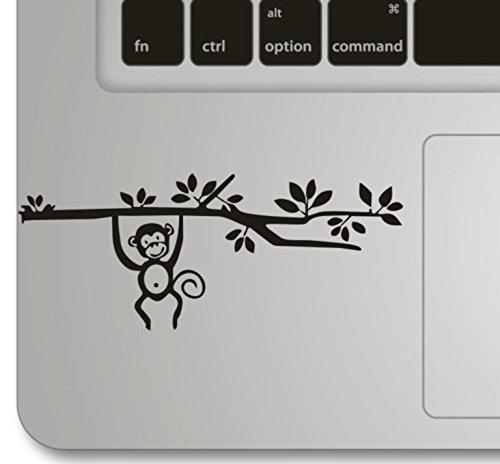 Beon Monkey On The Tree Apple Macbook Decal Humor Handmade Partial Art Skin