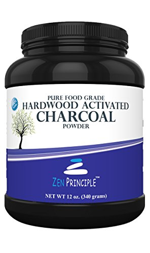 Price comparison product image Activated Charcoal Powder only from USA Hardwood Trees. All Natural. Whitens Teeth, Rejuvenates Skin and Hair, Detoxifies, Helps with Digestion, Treats Poisoning. Free Scoop Included. 12 oz.