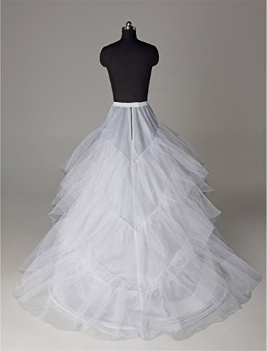 XYX Enaguas de la boda bridal dress crinoline petticoat vestido de novia wedding dress miriñaque underskirt long tail