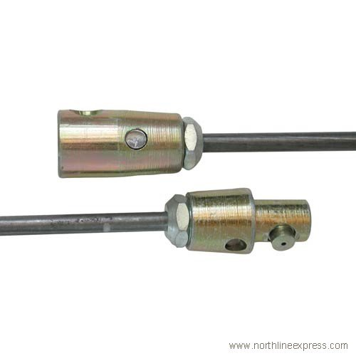 Rutland 57ST-50 .25 in. X 60 in. Steel Rod For .5 in. (1/2 Chimney)