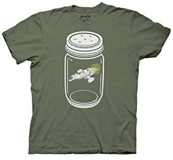 Firefly Ship In A Jar T-shirt (Extra Large, Black)