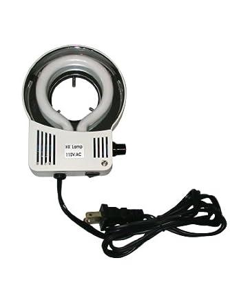 Ample Scientific FLR-10W 10W Adjustable Brightness Fluorescent Ring Light