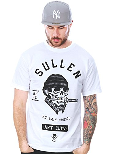 Sullen Men's Ross K Jones SS T Shirt White