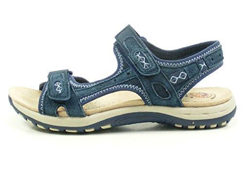 Earth Spirit Frisco Schuhe Damen Trekking Sandalen Blau