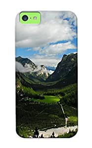 New Style Abidingwmg Mountains Clouds Landscapes Nature Skyscapes Premium Tpu Cover Case For Iphone 5c