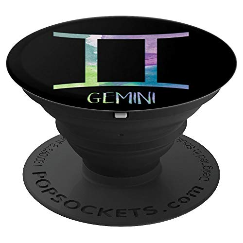 (Gemini Zodiac Symbol Astrology Twins - PopSockets Grip and Stand for Phones and Tablets )