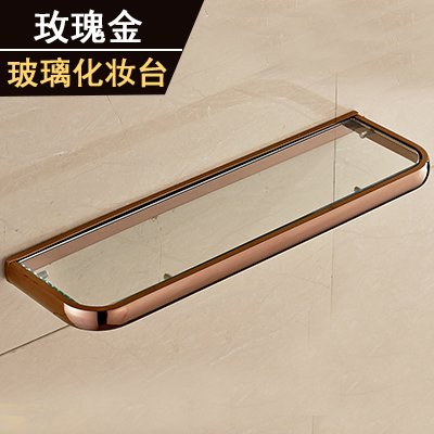Yomiokla Bathroom Accessories - Kitchen, Toilet, Balcony and Bathroom Metal Towel Ring American rose gold replica ornaments set rose gold (USA) glass dressing table