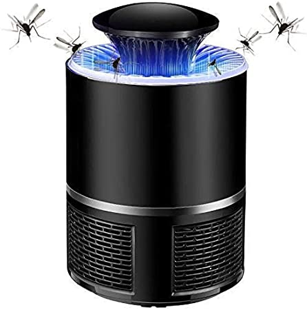 hanydesk® 365 Nano Wave USB Electric Mosquito Killer Lamp LED Bug Zapper Black