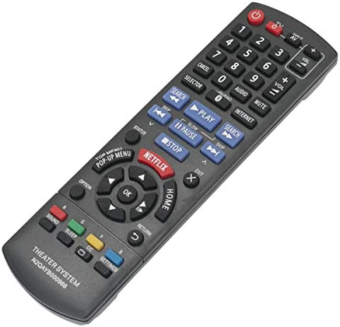 N2QAYB000966 Replacement Remote Control Applicable for Panasonic SC-BTT466 SC-BTT465 SC-BTT405 SA-BTT466 SA-BTT465 SA-BTT405 SCBTT466 SCBTT465 SCBTT405 Blu-ray Disc Home Theater Sound System 41J 2BgHcpiXL