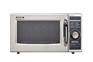 Sharp R-21LCF Medium-Duty Commercial Microwave (Dial Timer, 1000-Watts, 120-Volts)