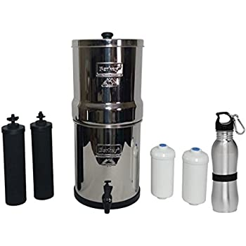 Amazon Com Travel Berkey Water Filter Stainless Steel