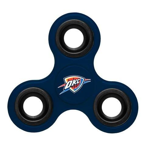 fan products of NBA Diztracto Fidget Spinnerz - 3 Way, Oklahoma City Thunder, One Size