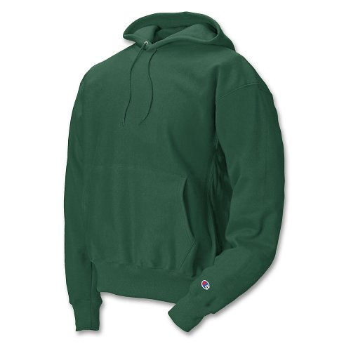 Champion Reverse Weave Hood_Athletic Dark Green_X-Large