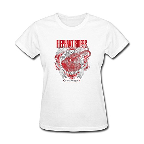 Women's DF Man Clutch Elephant Riders Ship Of Gold Short Sleeve T-Shirt ()