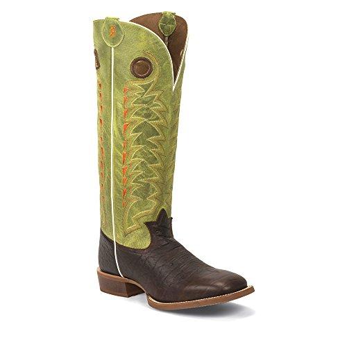 Tony Lama3R1028 - Stivali western Uomo Choco Verde Comprar Barato Ebay b8ehUbWsP