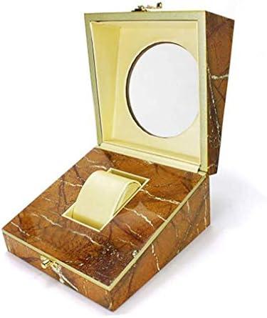 ZYL-YL ホルダーオーガナイザープレミアム木製収納ボックスジュエリーギフトケースシングルグリッドウォッチボックス