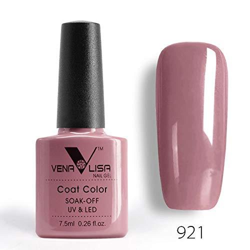 Glasses 921 (7.5Ml 60 Colors Nail Art Design Tips Manicure Soak Off Uv Led Color Gel Nail Polish Nail Shellaced Lacquer 921)