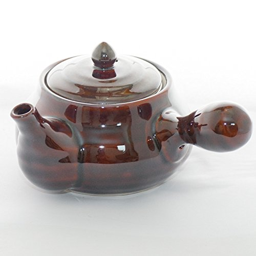Japanese tea pot amekyusu teapot with tea strainer import it all - Japanese teapot with strainer ...