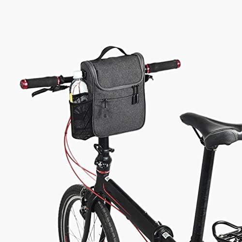 自転車バッグ、自転車のフロントバッグ、大容量多機能フロントヘッドバッグ、折り畳み式自転車電気自動車バッグレインカバー