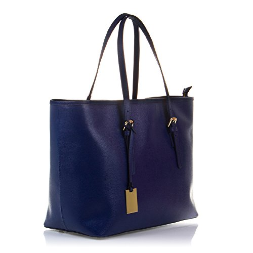 Piel Tote Y De Saffiano Blue Leather bolso Color Azul Color Leather Auténtica Mujer 38x29x17 Genuino Cm Artegiani 38x29x17 Vera Cm Woman Acabado Italiana Italian Pelle Lujo Pelle Italy In Made Mujer Suave bolso Tote De Vera Genuine Cuero Firenze Italy bolso Tacto Made In Artegiani Auténtica Firenze Acabado Piel Saffiano Luxurious And Soft Finish Woman bolso Finished Leather qXtEEa