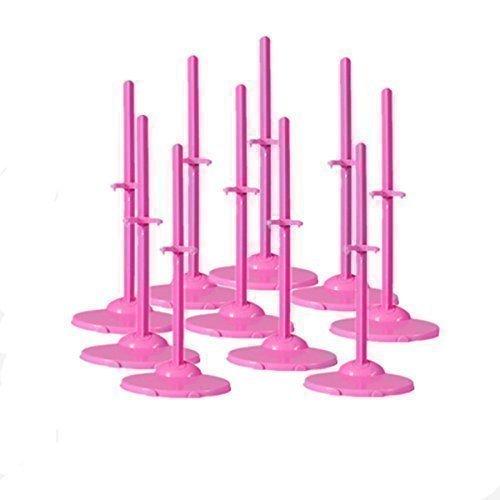 Fat-Catz - Lot de 2 socles pour poupées Barbie/Sindy (poupée non incluse)