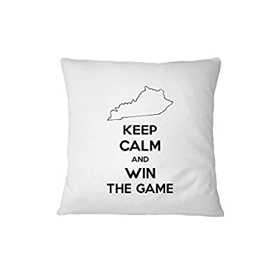 Kentucky Keep Calm And Win The Game Sofa Bed Home Decor Pillow Cover