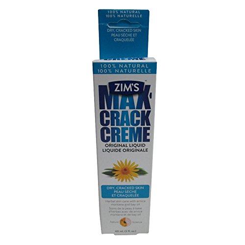 Zim's Crack Creme, Original Liquid Formula, 2 Ounce (Pack of 4)