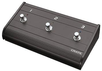 Crate Tres Botones – Pedal de caja metálica