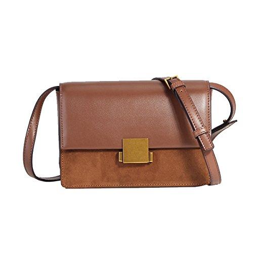 Dissa Shoulder Design Bag Women Brown 185 Body Handbag Leather Fashion Elegant LF Cross g1fqwg