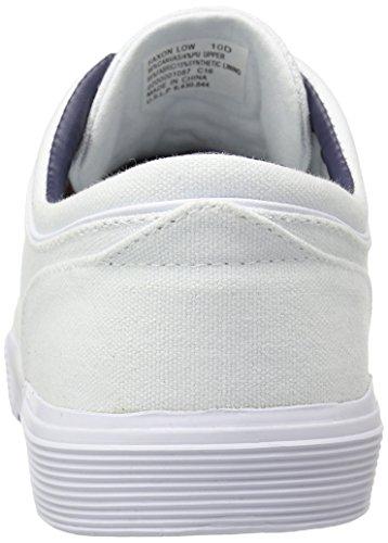 Polo Ralph Lauren Mens Faxon Sk Vlc Sneaker Bianco Puro