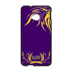 Tiger LSU Design Hard Case Cover Protector For HTC M7