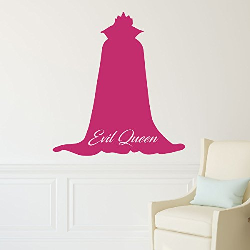 Disney Villains Evil Queen Vinyl Wall Decor, Halloween Decorations, Wall Decals For Kids Room, Playroom Ideas]()