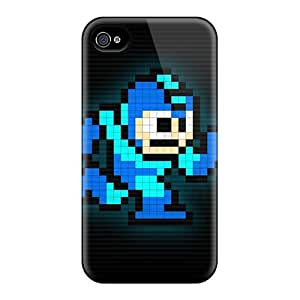Iphone 6plus DsT18414dlhk Allow Personal Design High Resolution Megaman Pattern Great Hard Phone Cases -JasonPelletier