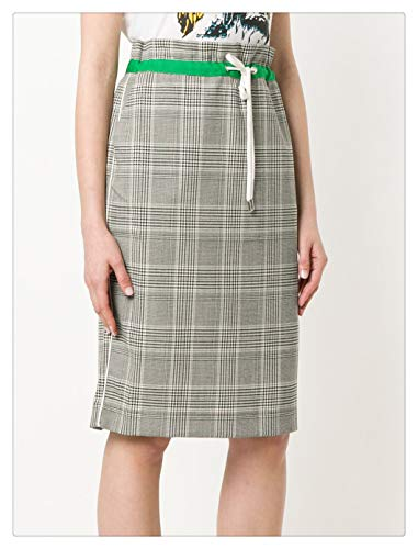 Rg512 GR Jupe Mince Style Britannique Dames Occasionnels (Color : Gray, Size : S) Gray