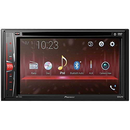 Pioneer AVH-210EX in-Dash 2-DIN 6.2'' Touchscreen DVD Receiver with Bluetooth by PIONEER