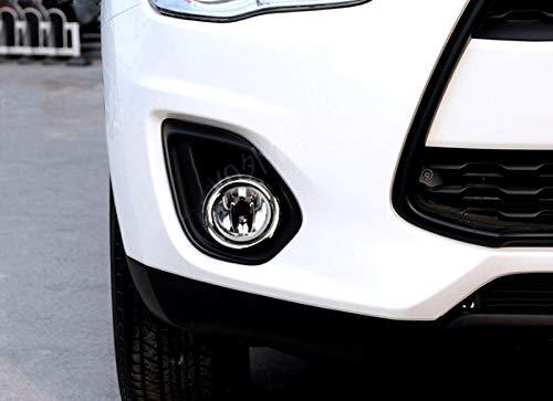 CarAutotrim ABS Cromado 2 embellecedores para Faros antiniebla Delanteros ASX 2013-2015
