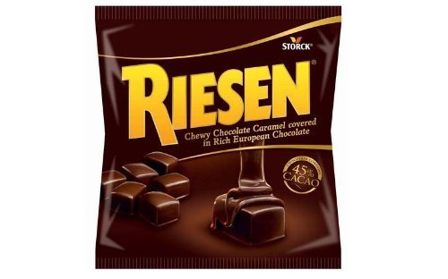 Riesen Chewy Chocolate Caramel - 2.65oz (Pack of