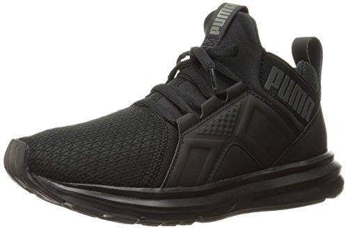 PUMA Kids' Enzo Jr Sneaker, Puma Black, 5 M US Big Kid ()