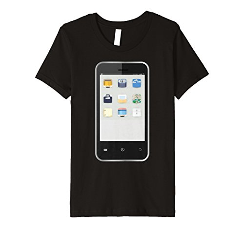 Kids Cell Phone T-shirt Easy Group Halloween Costume Idea 12 -
