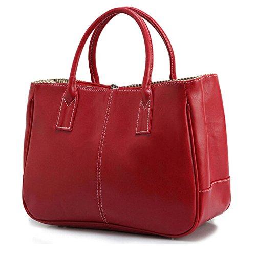 Bag Dames Main Design Handle Simple À Bureau Féminine Rouge Business Top DELEY Sac Mode 7pSCqwB0