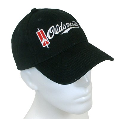 Oldsmobile Black Baseball Cap