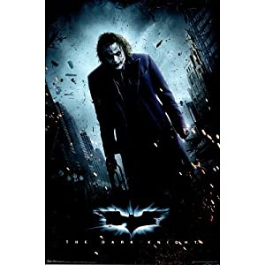 Amazon.com: (22x34) The Dark Knight Movie (Joker Standing