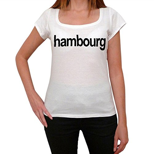 Hambourg Women's Short Sleeve Scoop Neck Tee