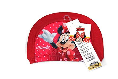 Disney Minnie Mouse Girls Swim Hat Red by ESHOP7
