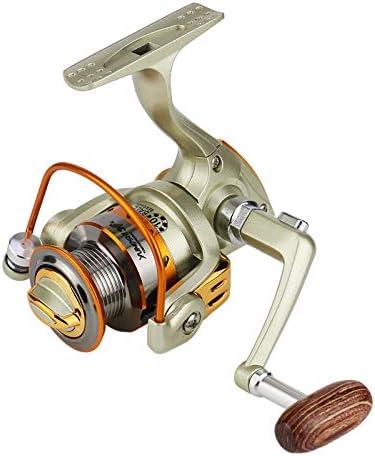 5.2:1 Alta Velocidad Carrete de Pesca pequeña Rueda de Bolsillo ...