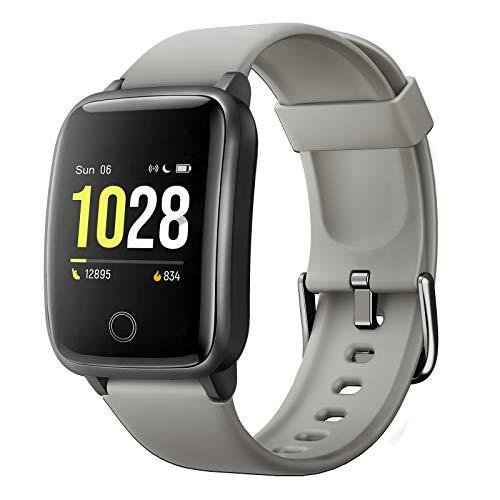 Fitpolo Smartwatch voor dames en heren, kinderen, fitnesstracker, fitnessarmband met hartfrequentie, IP68 waterdicht…