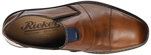 Marron Royal Navy 40 EU Amaretto Marron B1765 Mocassins Homme Rieker Tzwxt8qI