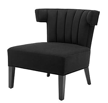 Casa-Padrino Butaca de Lujo Negro - Muebles de diseño ...