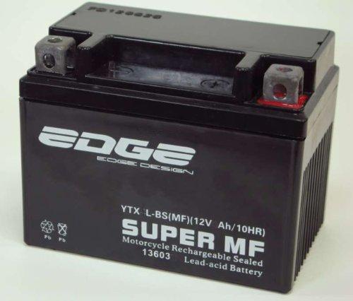 Roller Batterie 12V 4Ah (YB4L-B) wartungsfrei passend z.B. für Vespa Piaggio Aprillia Italjet Malaguti Peugeot Sachs Honda Yamaha usw.